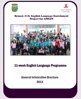 Brunei-U.S. English Language Enrichment Project for ASEAN: 11-Week English Language Programme, 13 May-26 July 2013