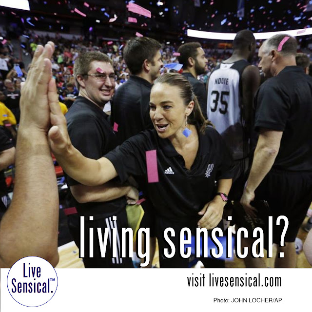 Becky Hammon - how to livesensical.com? First female head coach in NBA summer league lead the San Antonio Spurs to the Las Vegas Summer League Championship in a 93-90 victory over the Phoenix Suns.