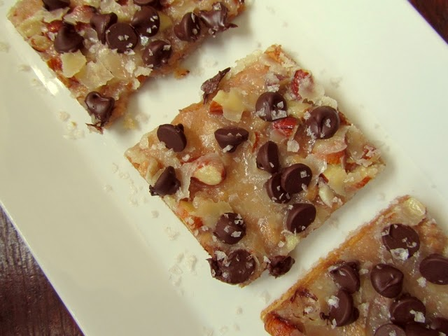 Graham Cracker Bars at On My Plate