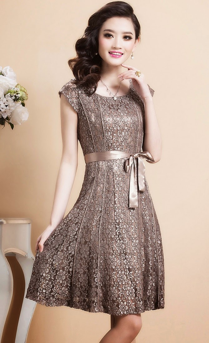 French Lace Long Dress French Lace Dress