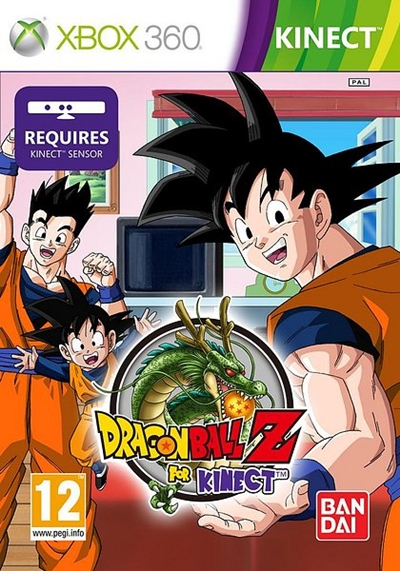 Dragon Ball Z For Kinect Xbox 360 Español NTSC - U DVD9 2012