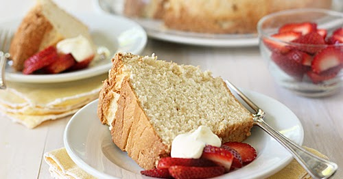 The Galley Gourmet: Brown Sugar Angel Food Cake