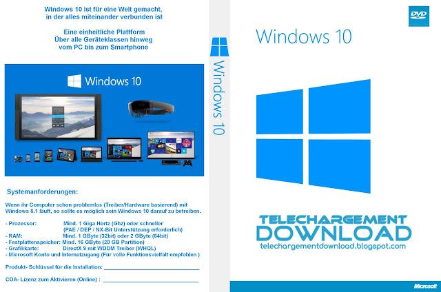 cracker windows 10 pro téléchargement + installation + activation