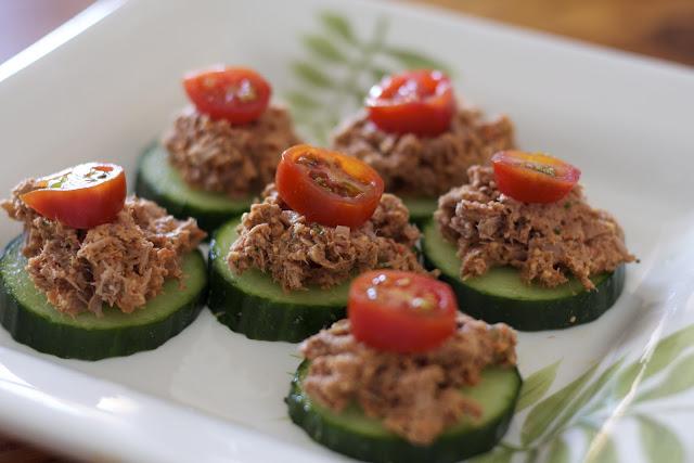 Cucumber Tuna Tastes