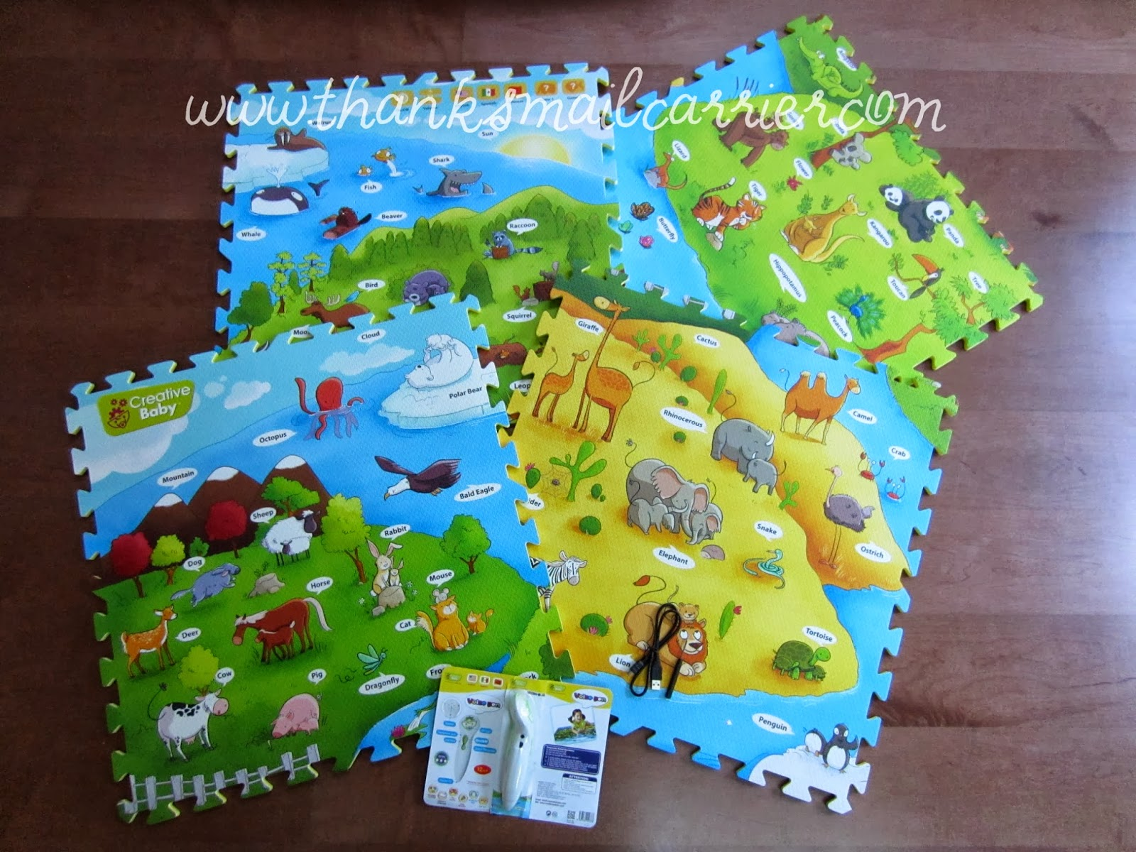 Creative Baby i-Mat Animal World