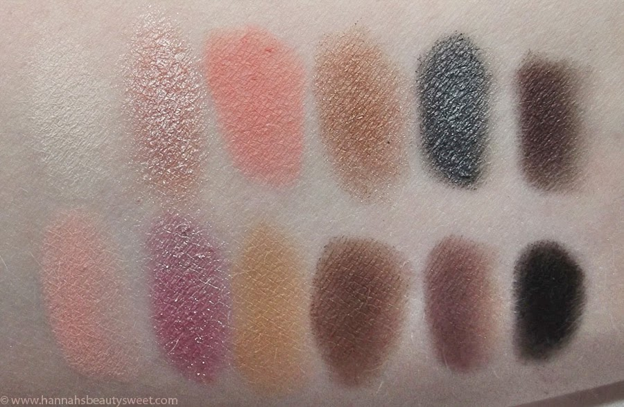 Sleek i-Divine, Oh So Special Swatches, Palette, eyeshadow, rose gold, peach, spring
