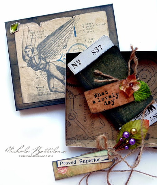 Gift box for dad with Petaloo & Marion Smith - Nichola Battilana