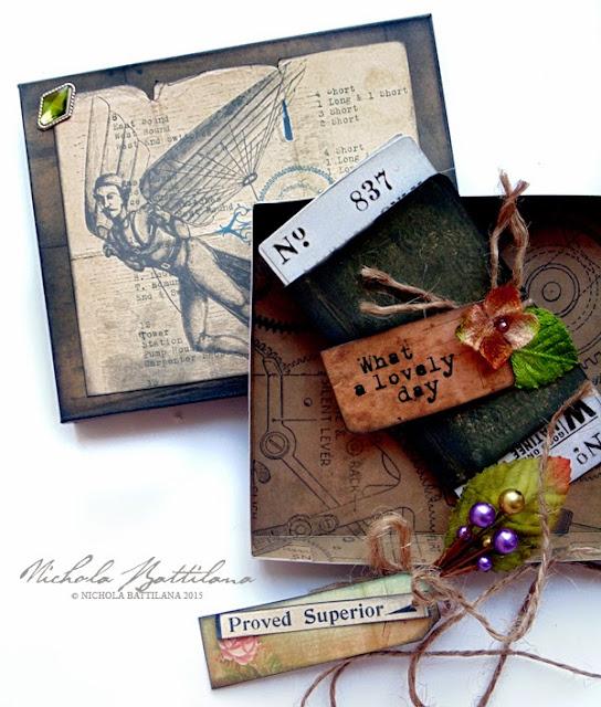 Gift box for dad with Petaloo & Marion Smith - Nichola Battilana