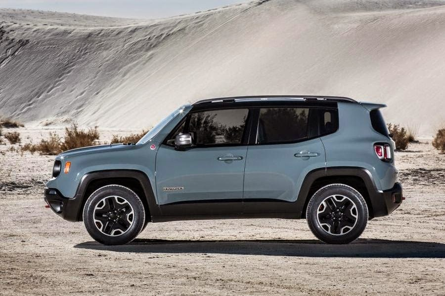 Jeep Renegade Trailhawk (2015) Side
