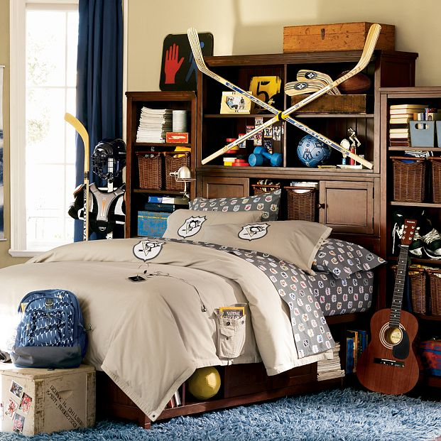 Pittsburgh Penguins Bedroom Decor