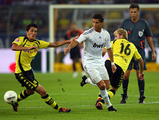 Cuplikan Video Highlights Dortmund vs Real Madrid 4-1