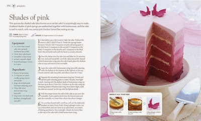 Step-by-Step Cake Decorating  pink fantasy cake