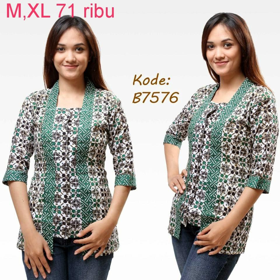 Aneka Model Baju Batik Model Baju Batik