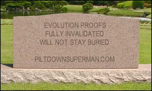 "Evolutionists present evidence for their beliefs. But it is often outdated and discredited. Here are two more ""evidences for evolution"" that should be buried and forgotten."