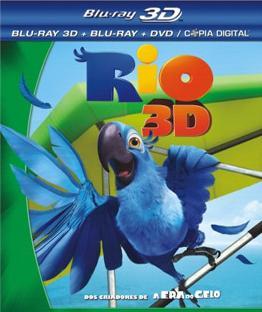 Filme Rio   3D   Dual Áudio   BluRay 1080p