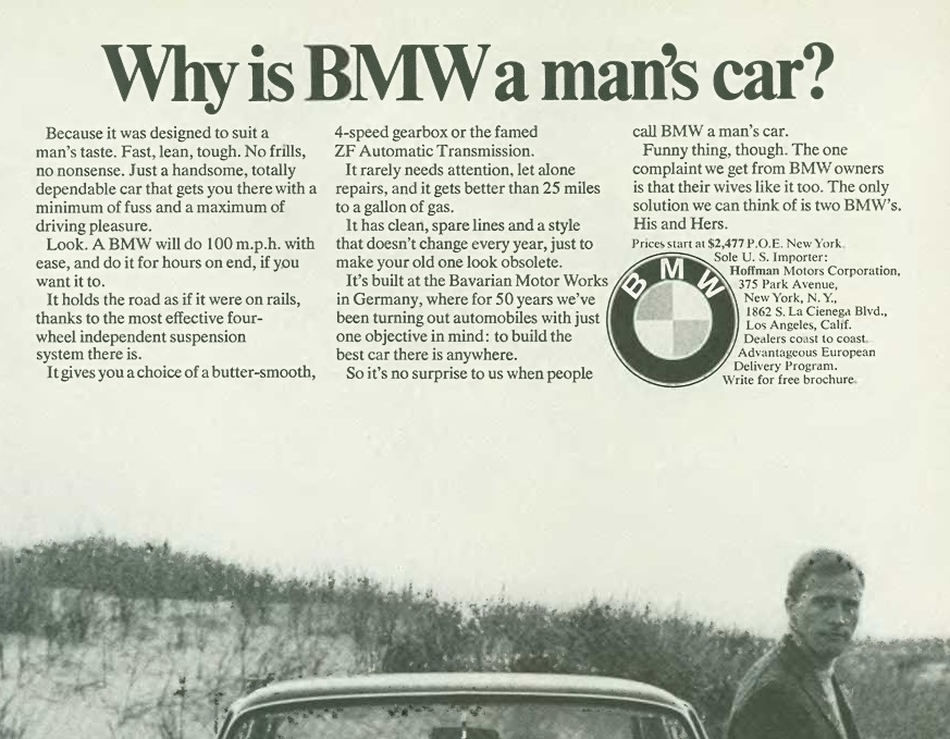 Old Bmw Ads