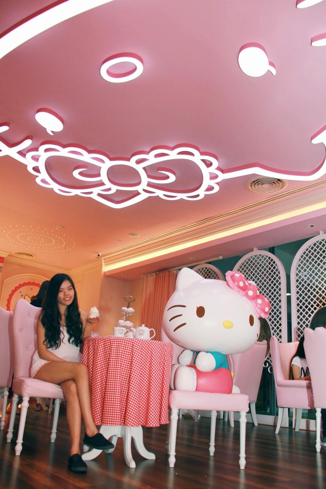 Bangkok Trip Day 3 | Sanrio Hello Kitty House Cafe BKK @ Siam Square ...