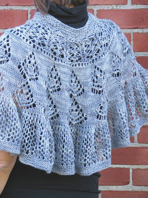 Knitted Shawl Patterns Free : free knitting pattern: best 2012 knitting shawl patterns