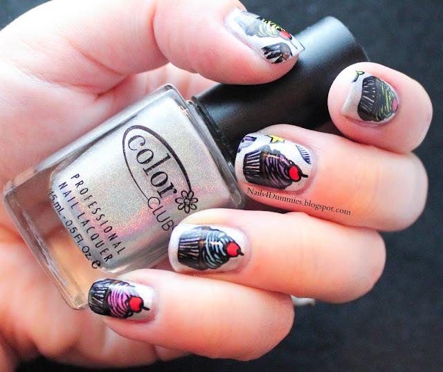 Nails4Dummies - Cheeky Cupcakes!