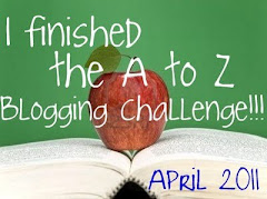 Blogging from A to Z Winner\