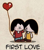 first love quotations and sayings for him