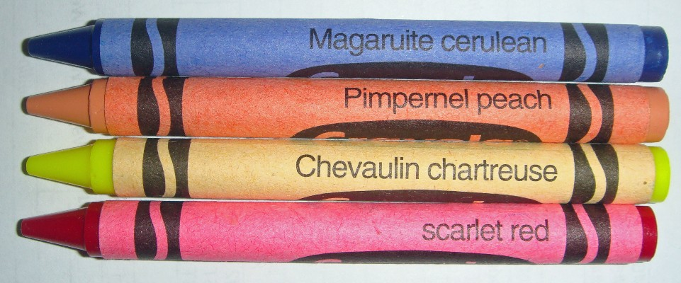 Unique Color Names Mesmerizing With Crayola Crayons Colornames Photo
