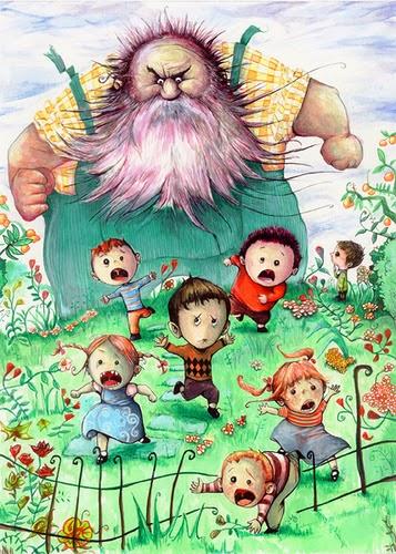 El gigante ego sta cuentos para ni os for El jardin del gigante