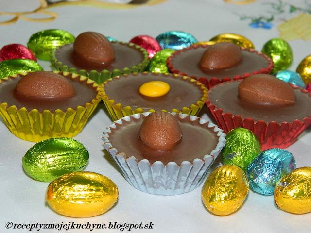 Čokoládové košíčky s kokosovou plnkou