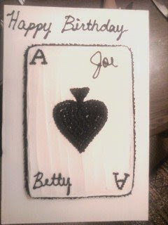 Ace of Spades Birthday Cake