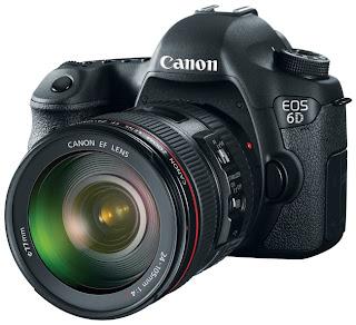 Canon EOS 6D Camara casi profesional y Economica