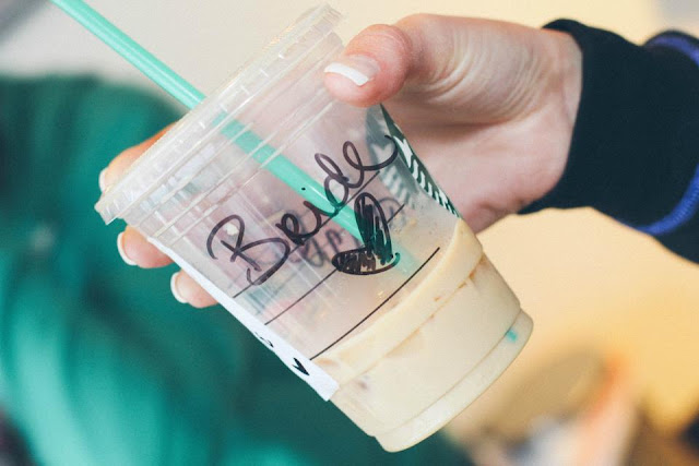 Bride Starbucks