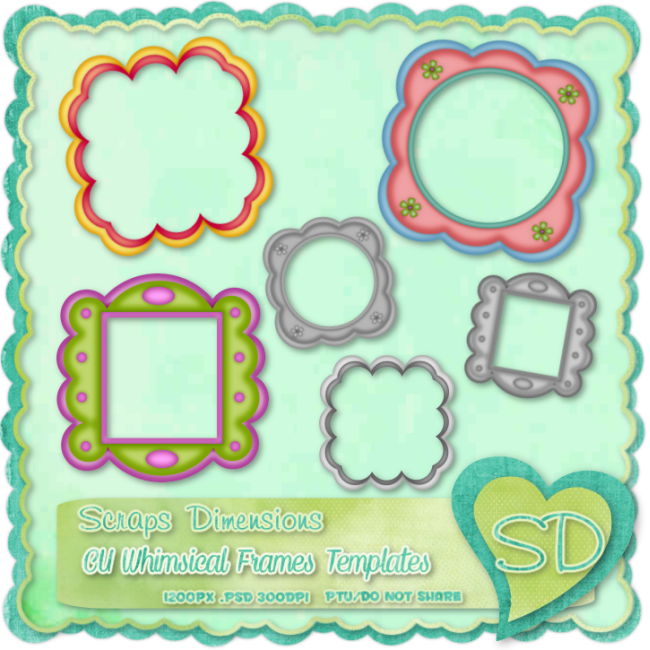 Whimsical frames