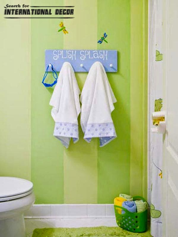 18 Cool Kids bathroom decorating ideas