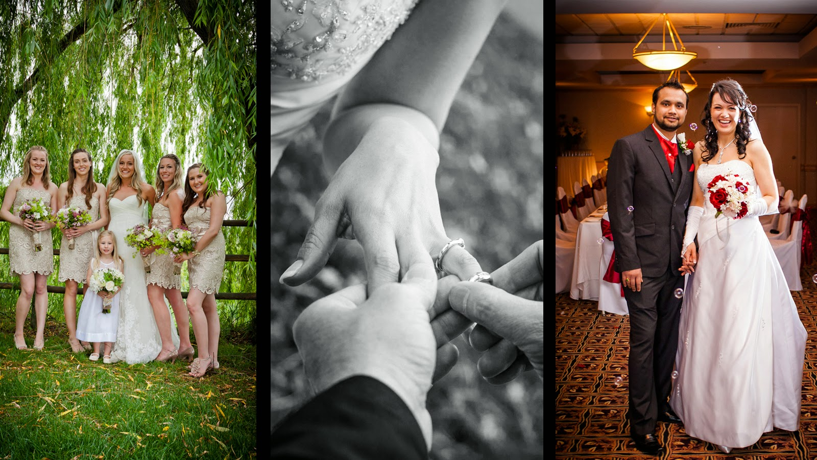 Chris Gardiner professional wedding photography in the Okanagan and Greater Toronto Area, traveling the rest of Canada