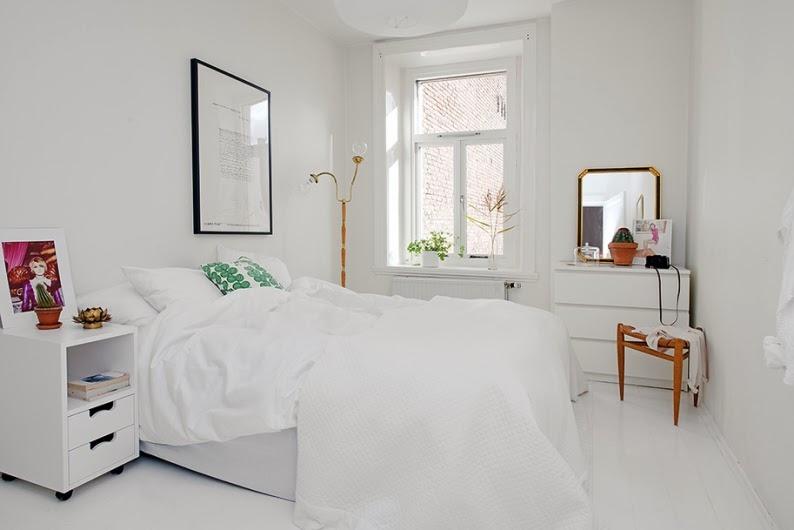 Estilo escandinavo con un punto industrial scandinavian for Dormitorio estilo nordico blanco
