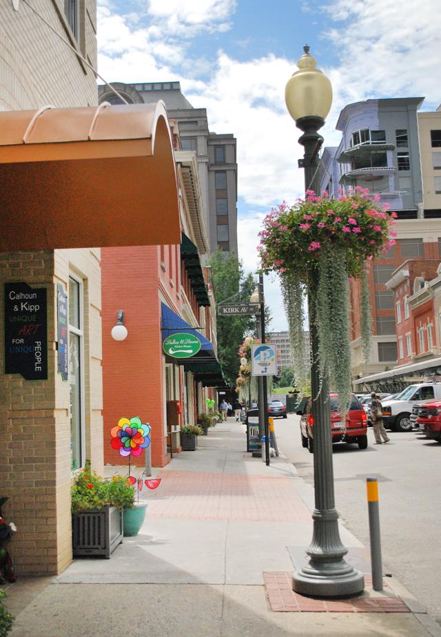 Market Street looking South, Roanoke, Virginia   Em Busy Living