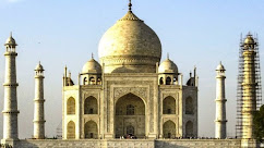 मड थ्रेपी से ताज की आंतरिक दीवारों  से पीलापन नहीं हटा