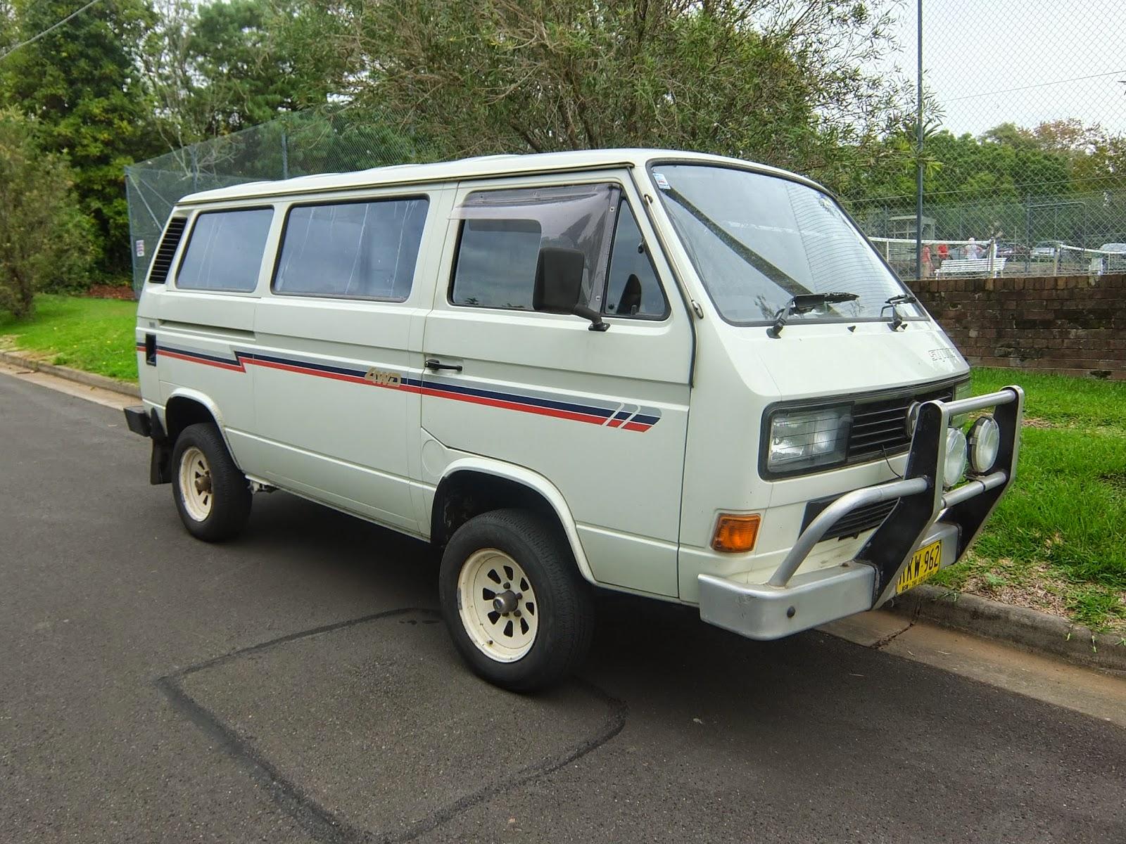 aussie old parked cars 1989 volkswagen transporter syncro t3. Black Bedroom Furniture Sets. Home Design Ideas