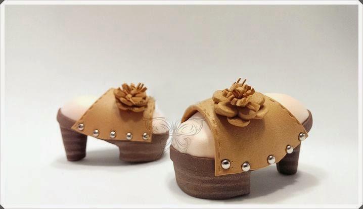 Обувь для кукол из фома