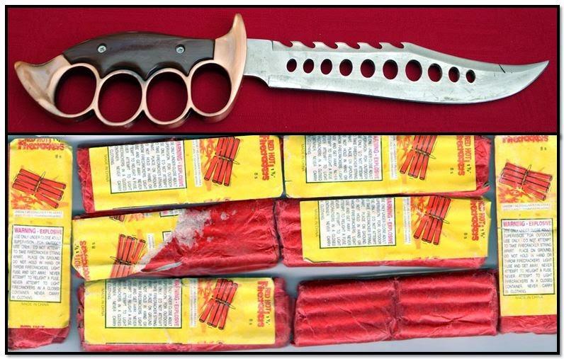 Knuckle-Knife (GTF) & Fireworks (DEN)