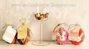 Huevos de Pascua de chocolate y fondant huevos de pascua iv