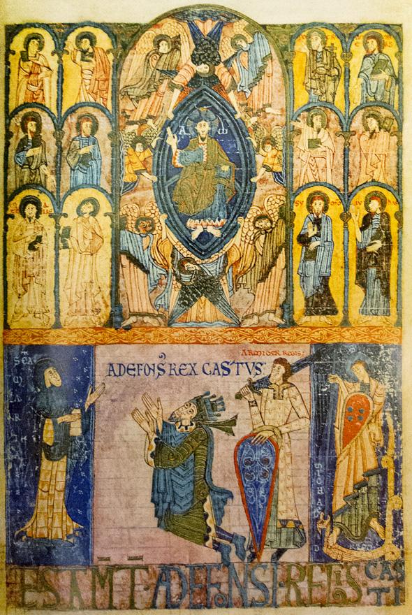 Alfonso II Libro Testamentos