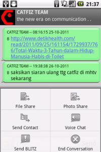 catfiz bbm untuk android