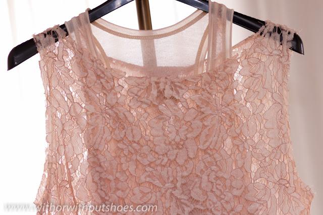 Nude Lace dress MK Barcelona