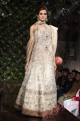 Pakistani Designer Saadia Mirza's -The Nur ul Aine Bridal Wear Collection 2013
