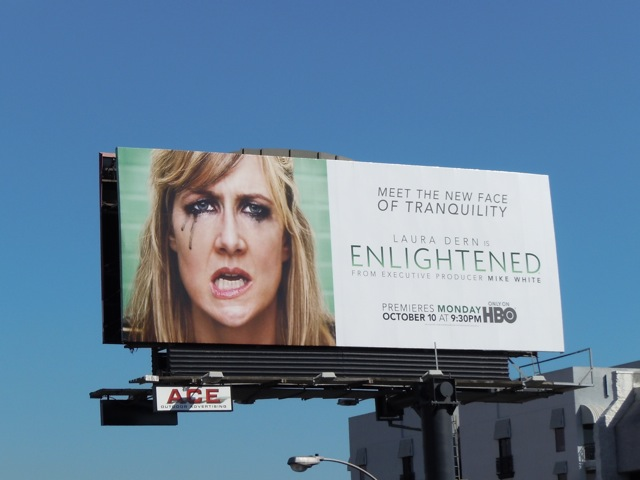Enlightened TV billboard