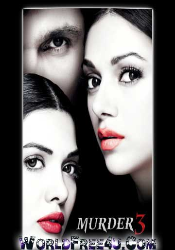 Poster Of Bollywood Movie Murder 3 (2013) 300MB Compressed Small Size Pc Movie Free Download worldfree4u.com