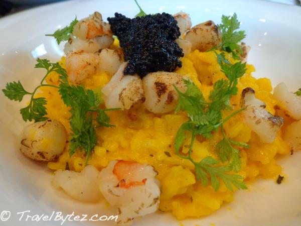 Saffron & Caviar Risotto