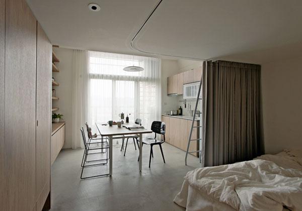 Lo spazio perfetto risparmio e versatilit - Tende colorate ikea ...