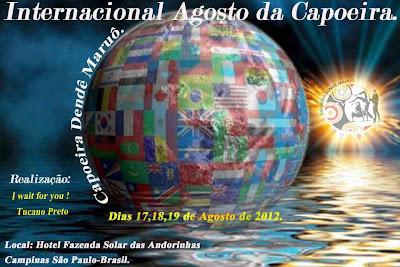 Dendê Maruô promete encher de Capoeira Hotel em Campinas